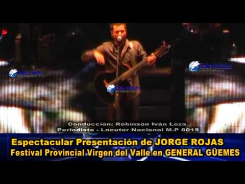 VIDEO COMPLETO:Jorge Rojas Festival Virgen del Valle