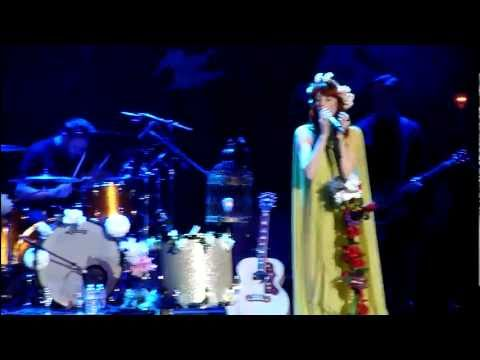 Florence &amp; the Machine LIVE @ the Greek Theater - Berkeley CA -  6.12.2011