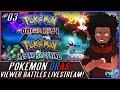 Pokémon ORAS [LC] Viewer WiFi Battle LIVESTREAM! #3