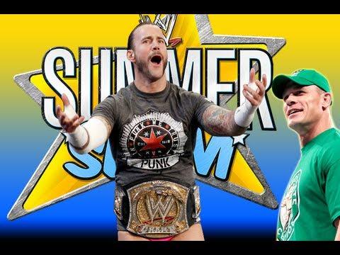 WWE SummerSlam CM Punk Vs John Cena