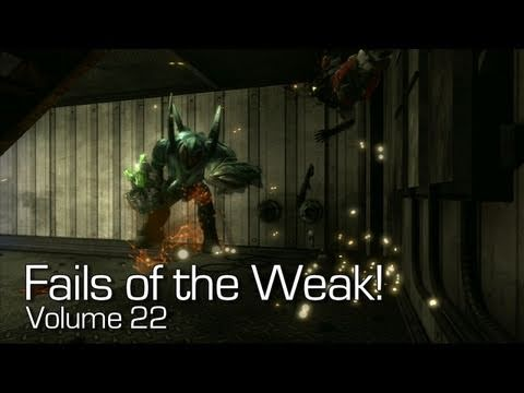 Halo: Reach - Fails of the Weak Volume 22 (Funny Halo Bloopers and Mistakes!)