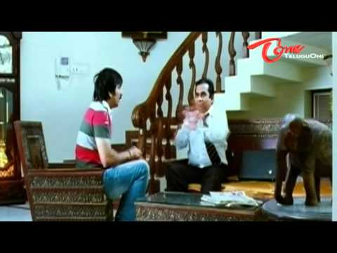 Brahmanandam & Ravi Teja comedy scene from Don Seenu