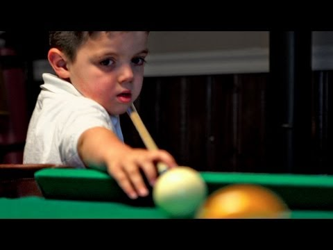 Five (5) Year Old Pool Prodigy