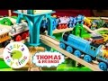 Thomas Train Huge Train Collection | Thomas and Friends Wooden Play Table | Toy Trains for Kids