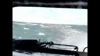Iceberg tsunami gone wild