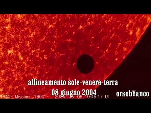 ALLINEAMENTO SOLE-VENERE-TERRA