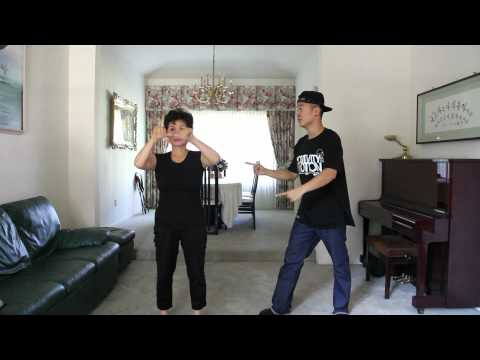 Son And Mom Dance GANGNAM STYLE