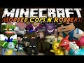 Minecraft Mini-Game : MODDED COPS N ROBBERS! POKEMON!