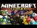Minecraft Mini-Game : MODDED COPS N ROBBERS! POKEMON!