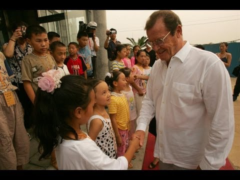 Unicef Celebrates Sir Roger Moore's 20 Devoted Years as a Goodwill Ambassador