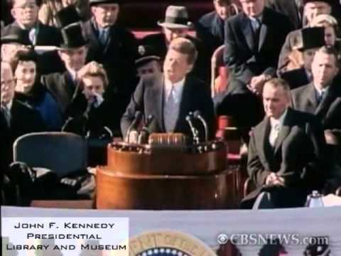 President John F. Kennedy's Inaugural Address - Washington, DC on January 20, 1961