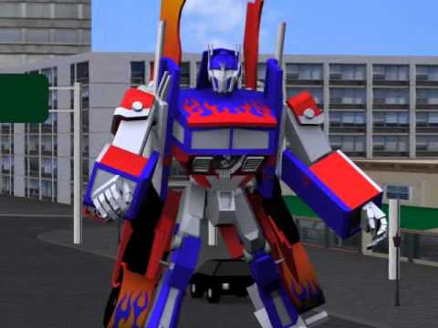 Creating Optimus Prime Transformers Animation Using 3ds Max