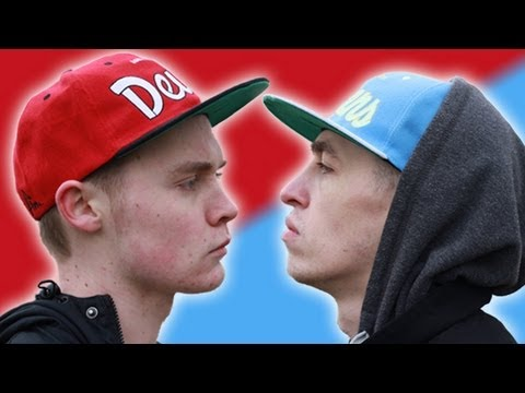 Blizzard (MUFC) vs Shotty Horroh (MCFC) Manchester Rap Battle!