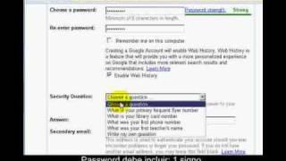 Como Crear Correo de eMail en Google