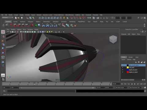 How to set up air turbulence in Maya
