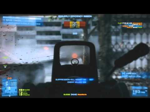 Battlefield 3 Cluttered amount of killing spree