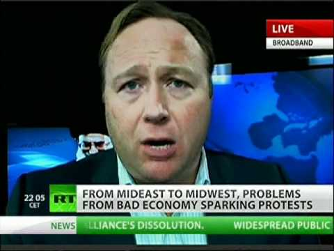 Alex Jones: NWO orchestrated protests