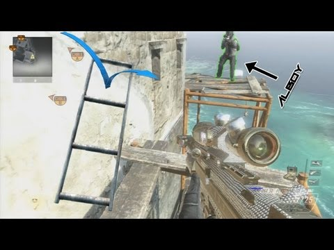 Tutorial Trickshot BO2 - Le Ladder Stall !