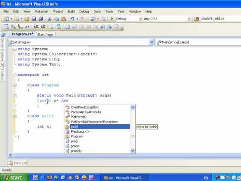 تعلم لغة برمجة سي شارب C# Learning in arabic الجزء 64