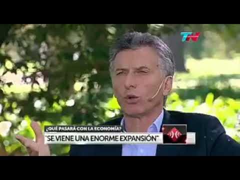 <b>Mauricio Macri.</b> &quot;No le vamos a pedir un préstamo al FMI&quot;