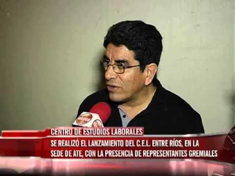 Lanzamiento del Centro de Estudios Laborales Entre Ríos