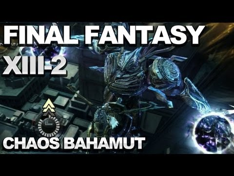 SPOILERS! Final Fantasy XIII-2 - Chaos Bahamut Prologue Boss Fight - UCKy1dAqELo0zrOtPkf0eTMw