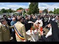 Părintele Episcop Lucian s-a rugat pentru eroii poporului român