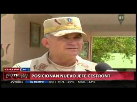 Posesionan nuevo director del Cesfront.