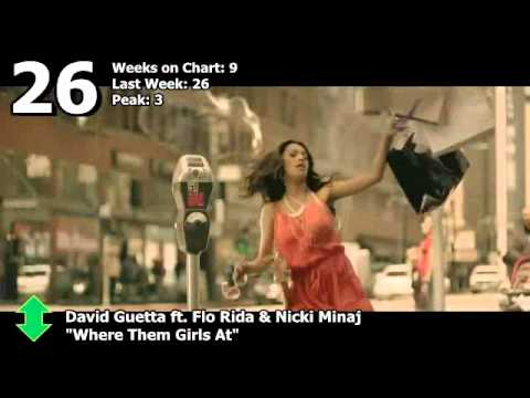 UK Official Chart - Top 50 Singles (7/9/11)