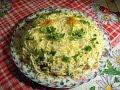 Салат Везувий- вкусный и сытный салатик с печенкой.