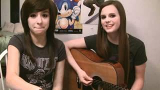 Christina & Tiffany - Bloopers - Break Your Heart