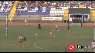 Super liga 2015/16: 6.Kolo: Mladost - Borac 1:1 (0:1)