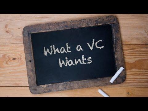 AMAZING Start-Ups:  What a VC Wants!