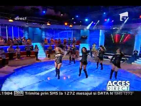 Andreea Balan - Like a bunny @ Acces Direct (Antena 1) - 31.05.2011