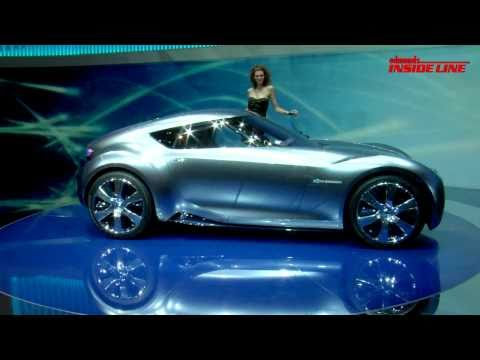 Nissan Esflow Electric Concept @ 2011 Geneva Auto Show