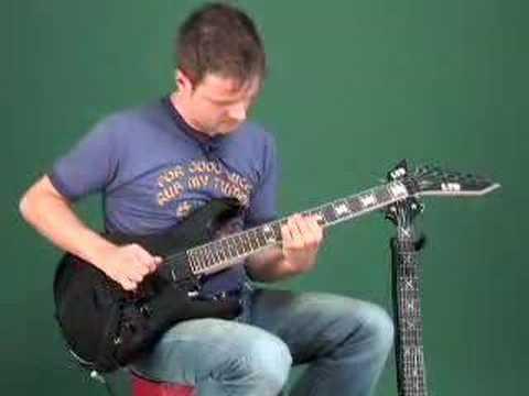 ESP LTD Ninja 600 and JH-200 Guitars