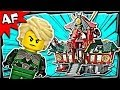 BATTLE for NINJAGO CITY 70728 Lego Ninjago Animated Building Set Review