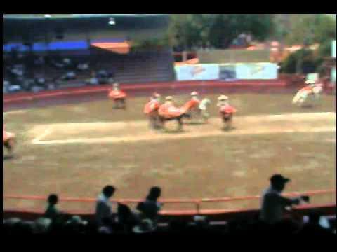 Actuación escaramuza Ribereña de Tlaxcala
