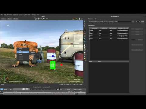 Motionbuilder Tutorial: MotionBuilder 2014 New Features: File Referencing API