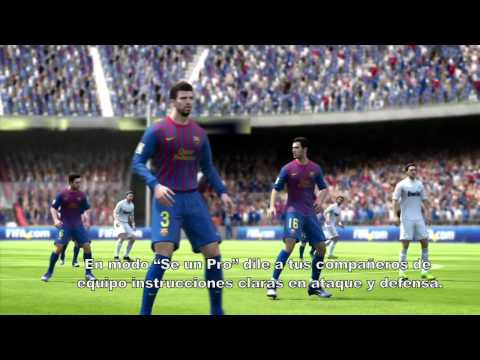 FIFA 13 - Compatibilidad con Kinect 