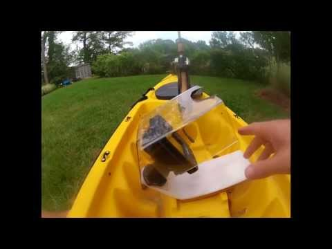 No Drill Kayak Fish Finder / GPS