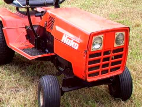 Briggs Stratton Com >> 1986 Hako Garden Tractor