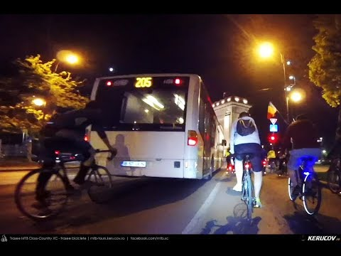 Montaj video: Masa Critica Bucuresti - 26 aprilie 2019 (Bucharest Critical Mass)
