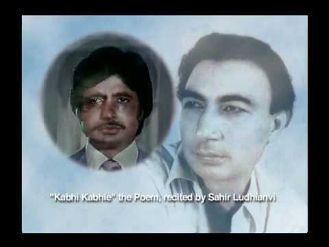 Kabhi Kabhi Mere Dil Mein Khayal Aata Hai - A poem by Sahir Ludhyanvi