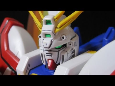 MG God Gundam (Part 1: Intro & Frame) G Gundam gunpla model review