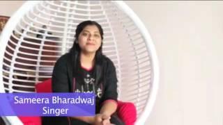 Sameera Bharadwaj Singer Talks about Oka Manasu Songs