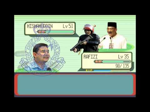 Pakatan Rakyat's path to Putrajaya (Pokémon Style) - Pt.1
