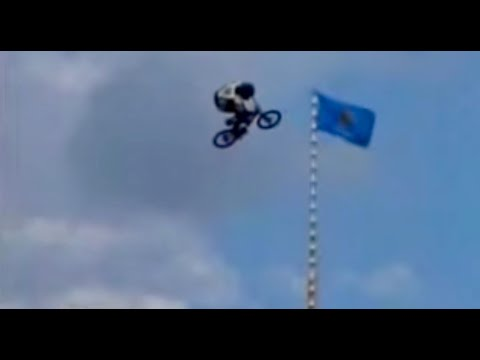 BMX Matt Hoffman Highest Air World Record On The Big Ramp
