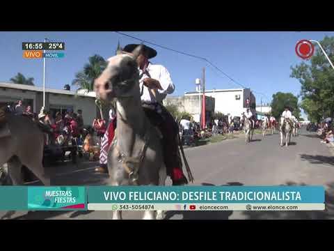 Desfile tradicionalista en la Fiesta Provincial del Ternero