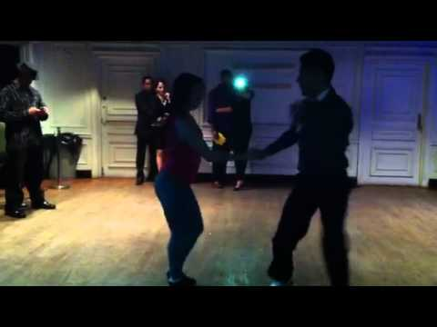 Nery Garcia and Giana Montoya amazing salsa